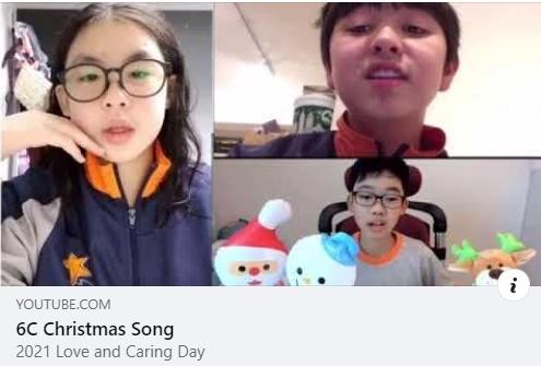 港大同學會小學的學生好想在🌲🎄🥳聖誕節向會友表達心意