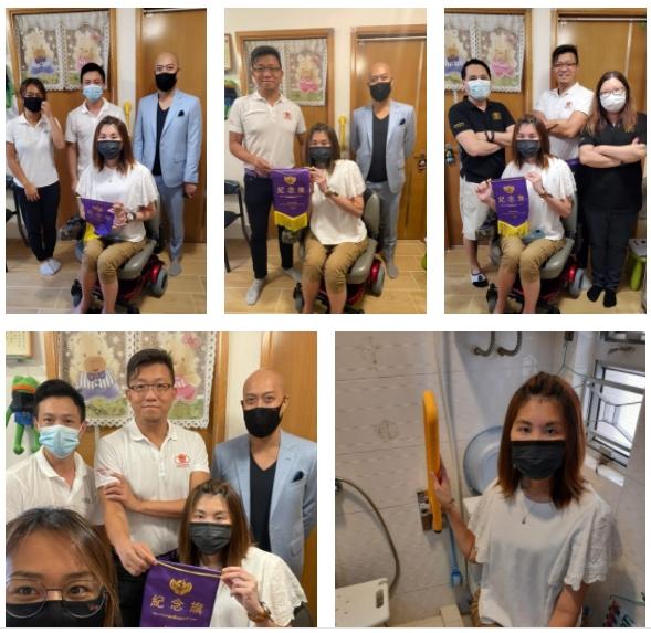 鳴謝 天壹口罩 Oneness Mask  天壹口罩 自資送出扶手 及 安排免費安裝予本會會員🙏🤝